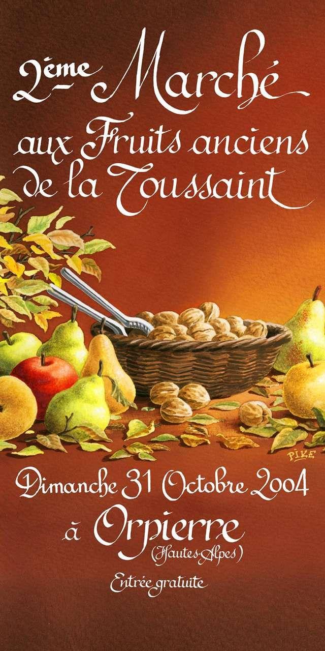 Orpierre 31 Octobre 2004 #orpierre #produitslocaux #baronnies