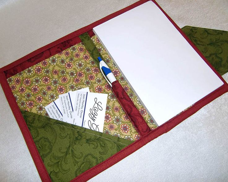Nancy Zieman Tablet Keeper: Paper Pad Keeper with Pen Holder by Lazy Girl Designs