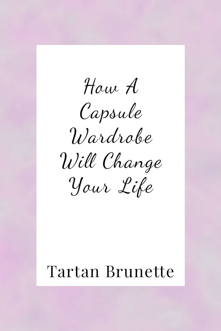 Can a capsule wardrobe change your life? Read about how my capsule wardrobe changed my life and what one could do for you too.