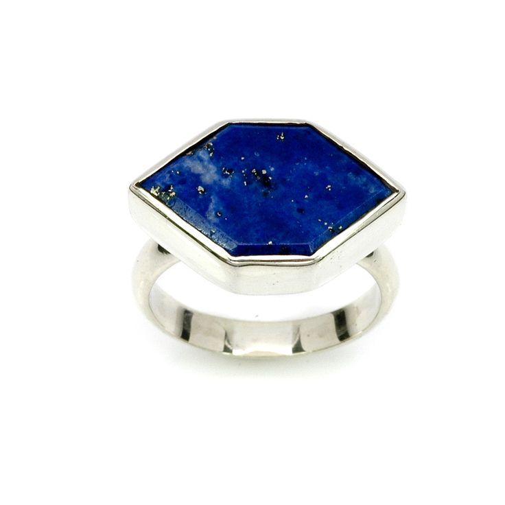Geo Ring / Lapis Lazuli