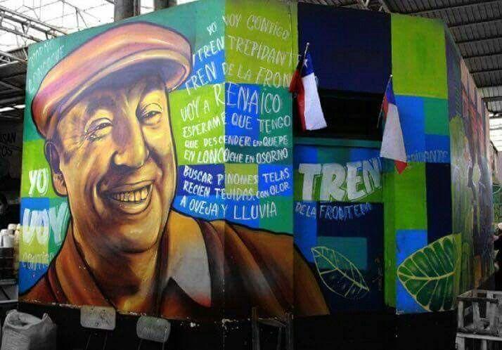 Pablo Neruda, Valparaiso, Chile