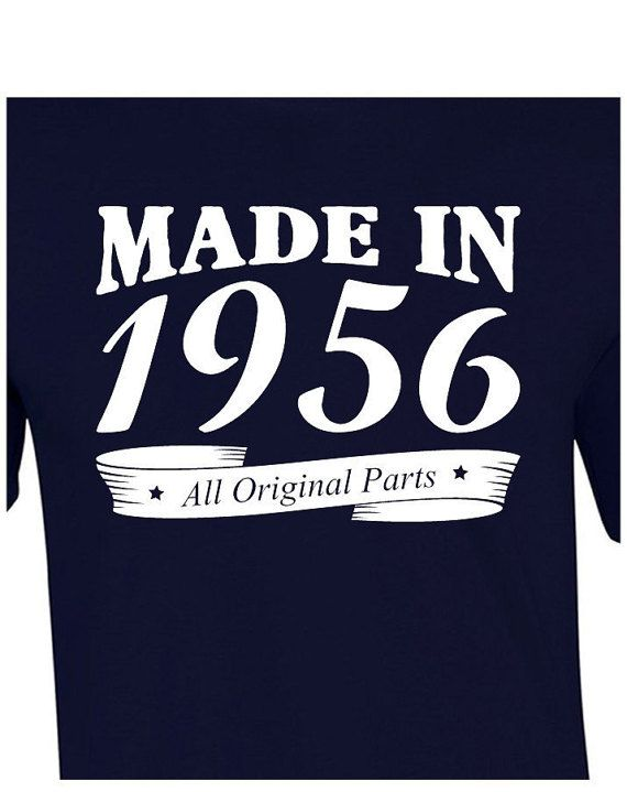 60th Birthday T-Shirt Funny 60th Birthday Gift Present Age 60 Years 60th Gift Old Man Made In 1956 Tees Husband Bday Born 60th Birthday