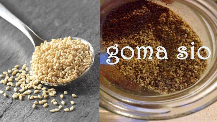 Goma sio recette de mon condiment préféré ❤♡