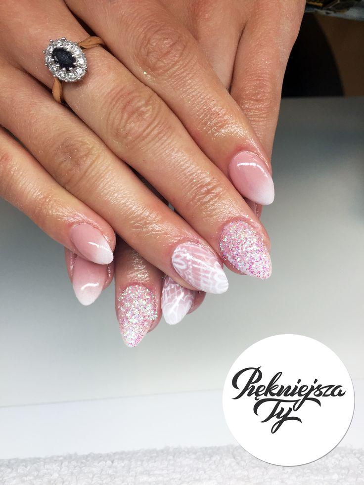 Paznokcie hybrydowe #piekniejszaty #manicure #hybryda #paznokcie