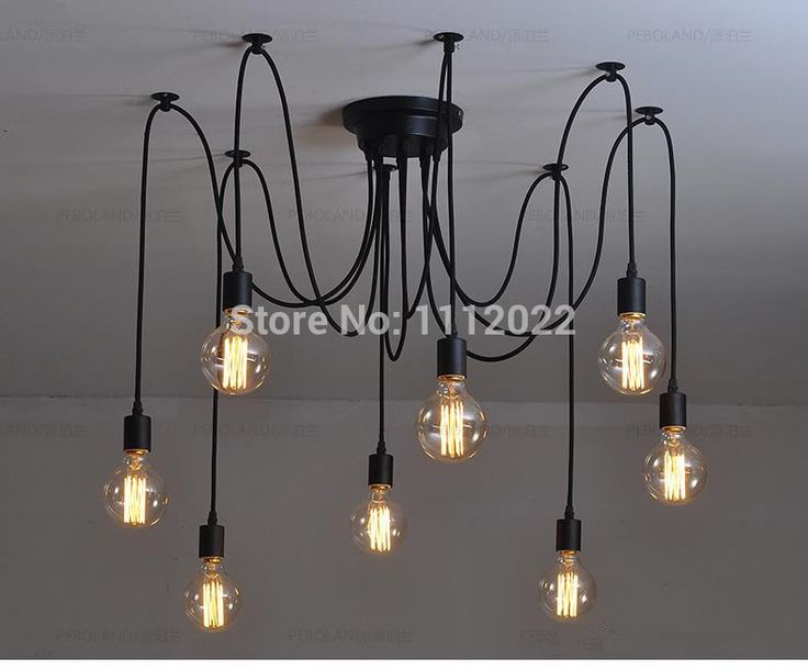Cheap Light Install, Buy Quality Light Blue Light Directly From China Light  Flakes Suppliers: Mordern Nordic Retro Edison Bulb Light Chandelier Vintage  Loft ...