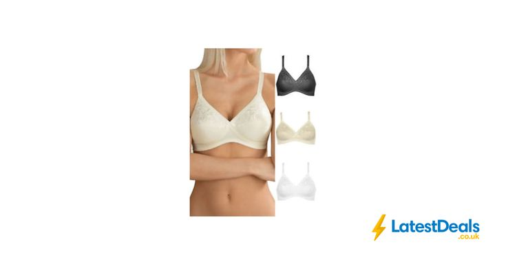 Naturana Magic Cross Non Wired Smooth Non Padded Soft Full Cup Bra, £9.99 at ebay