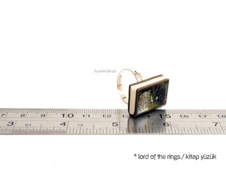Lord Of The Rings / Kitap Yüzük #fashion #design #miniature #food #art #miniaturefoodart #polymerclay #clay #minyatur #polimerkil #kil #nutella #tasarim #taki #sanat #moda #sokak #tutorial #yummykupe #mold #kalip #nasil #bileklik #kolye #kupe #yuzuk #aksesuar #kadin #ring #earring #accesorie #necklace #lordoftherings #book #lord #ring