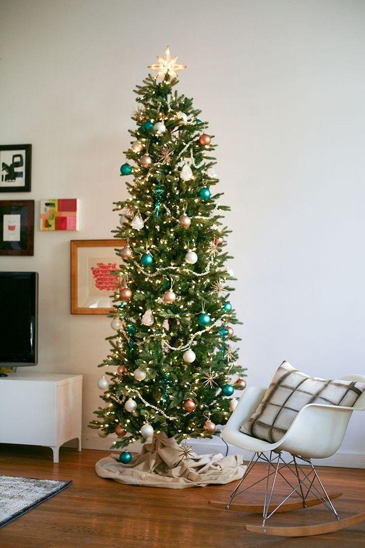 neutral boho christmas decor
