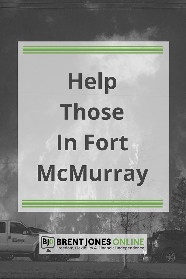 Donate Now to Help Those in Fort McMurray (Here's How): I am posting this update to ask you to join me in supporting those affected by the fires in Fort McMurray, Alberta. Every little bit helps.