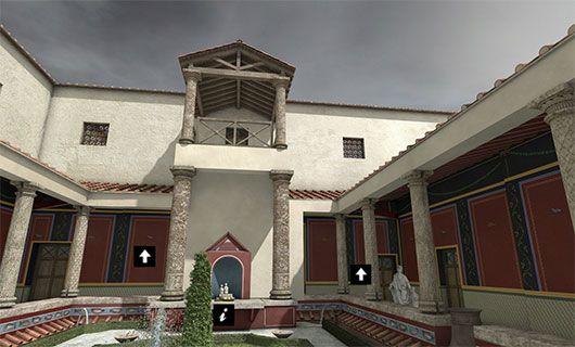 La Maison au Grand Péristyle - Visite 3D