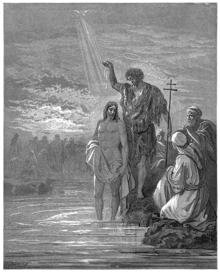 8. The Baptist of Jesus (Gustave Doré)