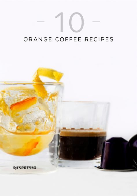 Add a little zest to your morning routine with this collection of 10 orange coffee recipes from Nespresso. Choose from refreshing beverages like California Orange Cinnamon Coffee, Arpeggio, and Orange Juice Iced Coffee. With so many different ways to enjoy your favorite Nespresso Grand Cru, you'll have trouble choosing just one.