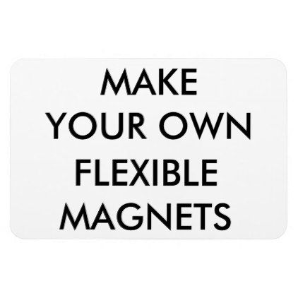 Custom Personalized Large Flexible Fridge Magnet Create Your Own Gifts Personalize Cyo