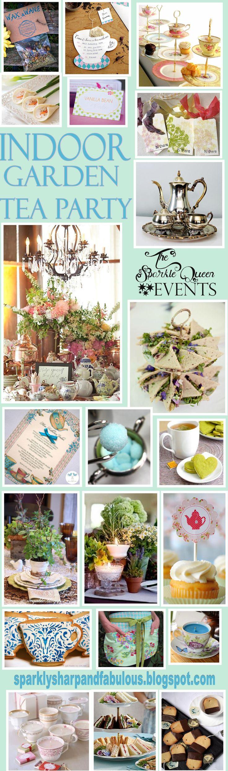 garden party inside   indoor garden tea party original post found here http ...