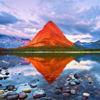 Grinnell Point Glacier Montana Parques Nacionais Maravilhas
