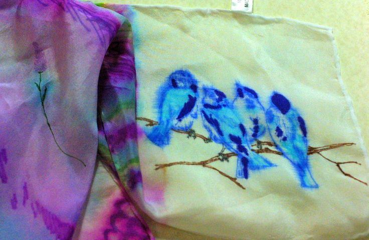 Silk Scarves Colored With Sharpies Google Search