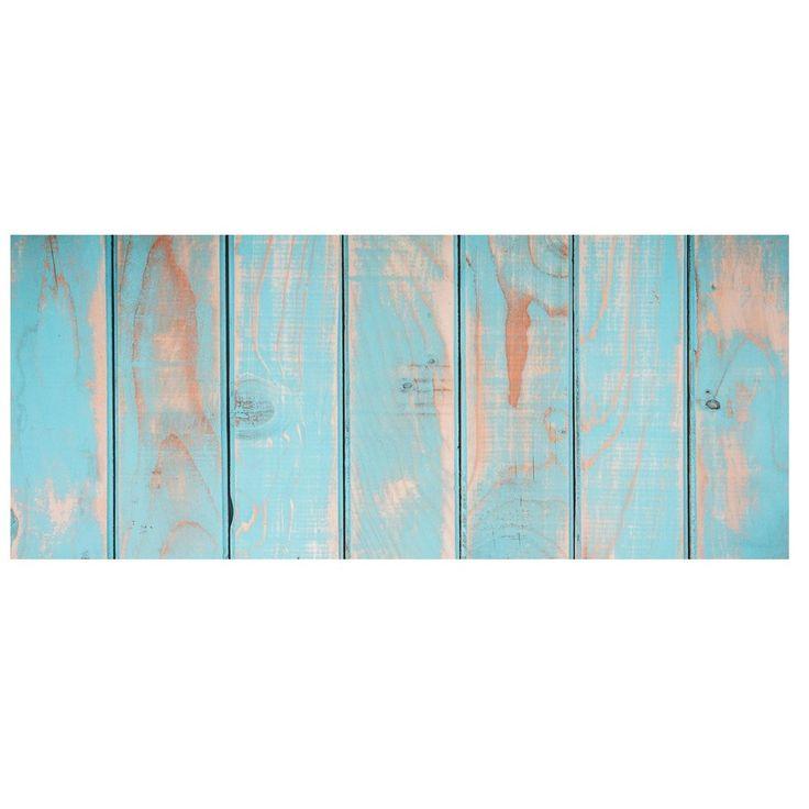 Koberec z vinylu Cocina Tablas Turquesa, 50x100 cm | Bonami