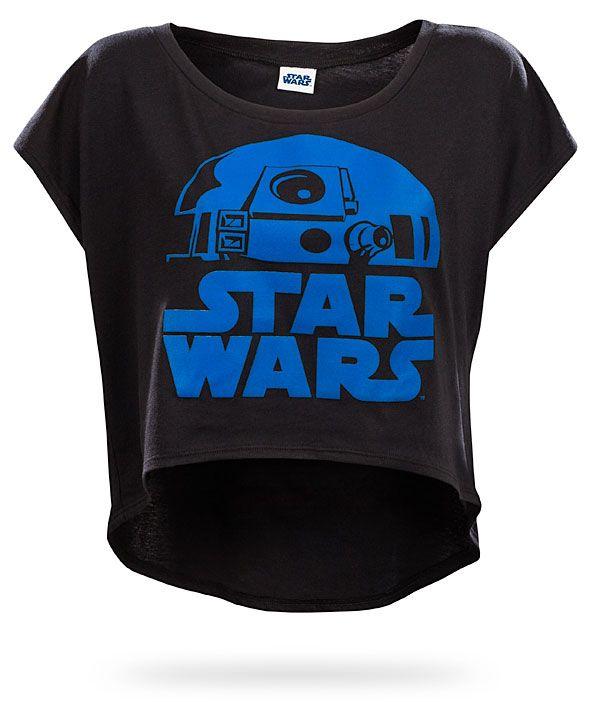 ThinkGeek :: Star Wars R2D2 Relaxed Fit Ladies' Tee