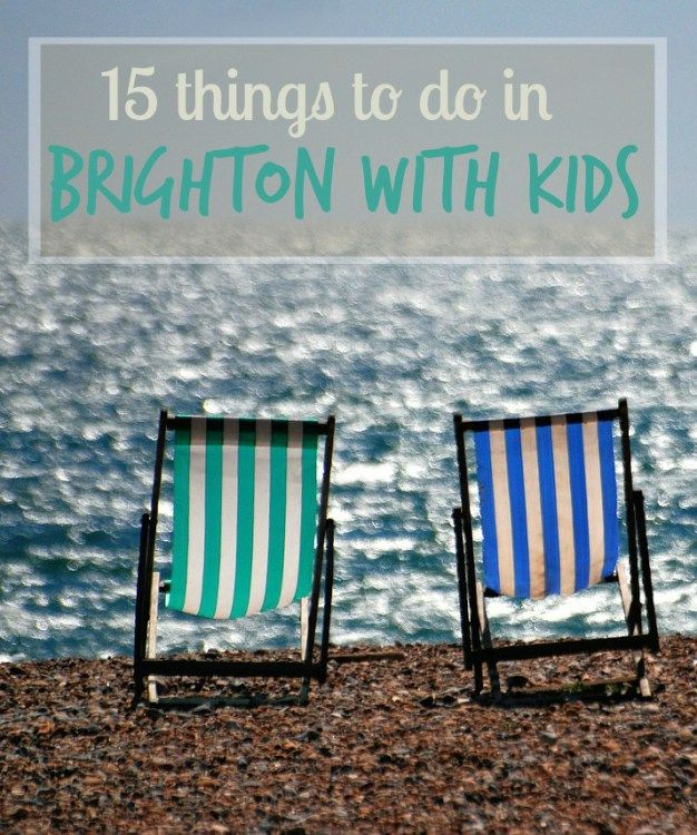 My top 15 things to do in Brighton with kids, including rainy day activities, the best museums and attractions and the perfect family-friendly tours