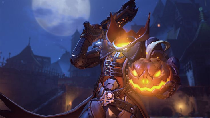 Overwatch Halloween - Pumpkin Reaper | Polygon