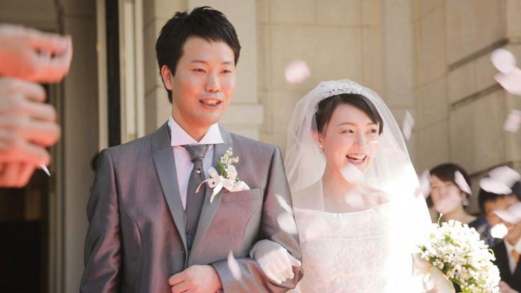 高輪貴賓館での撮ってだしエンドロール 結婚式ムービー【ウチキフィルム】