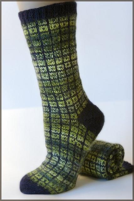 Lifestyle Toe Up Socks - No Swatch Needed