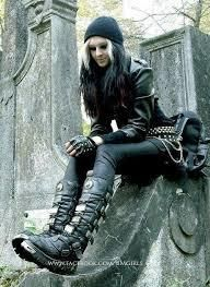 Metal Girl on Pinterest | Heavy Metal Girl, Heavy Metal Style and ...