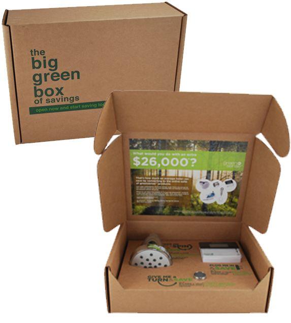 Enviro-Kraft Box and Soy Based Inks