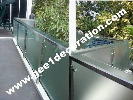 partisi,sekat,aluminium,kaca,frameless,fitting,tempered,pintu kamar mandi,lipat,jendela,sliding,: railing tangga, balkon, kaca tempered, stainless,