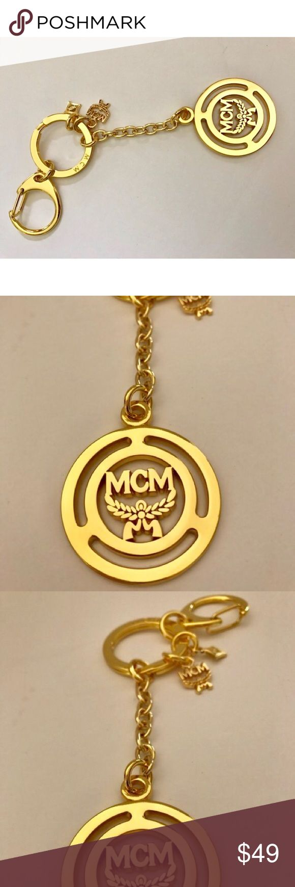MCM logo keychain / key charm Gorgeous mcm logo keychain. Perfect for your MCM handbags. MCM Accessories