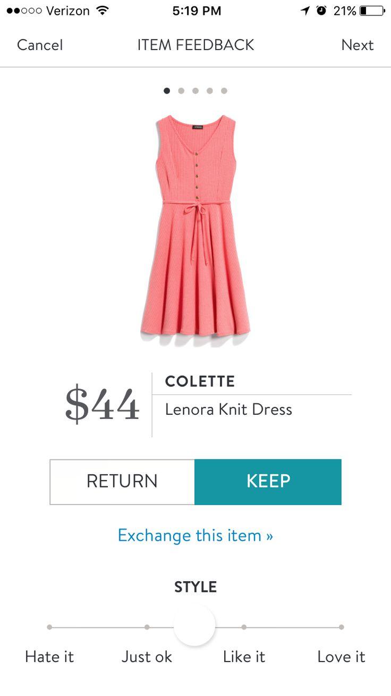 Colette Lenora Knit Dress