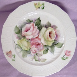 Lovely Roses make mini plates & 352 best Miniature plates images on Pinterest | Dish sets ...