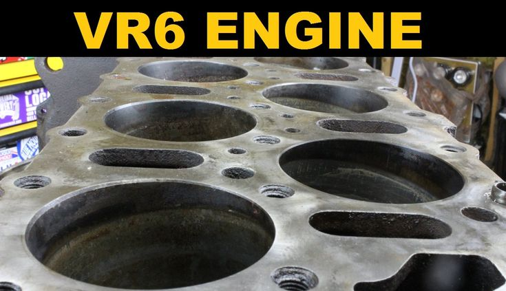 VR6 Engine - Explained