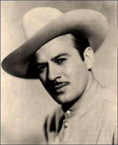 Pedro Infante  Y is it that a man who tilts his sombrero is a turn on