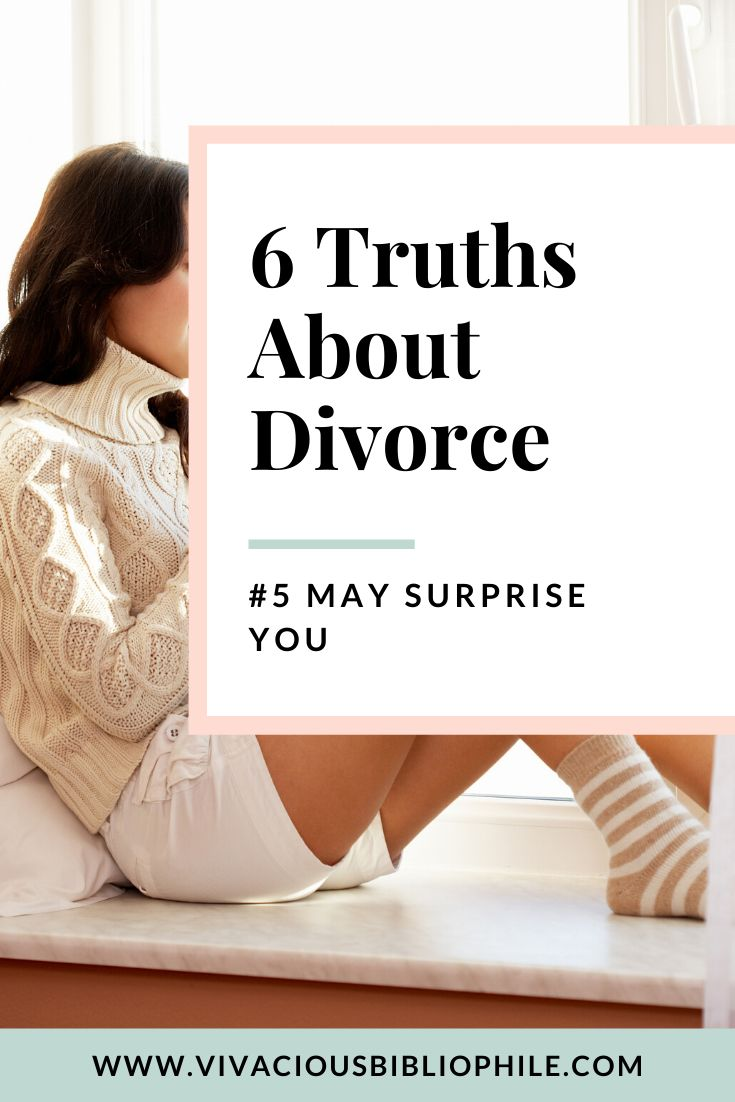 6 truths about divorce no one wants to talk about
