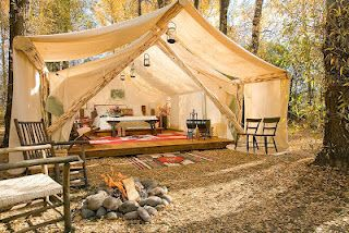 Glamping is so much better than camping.