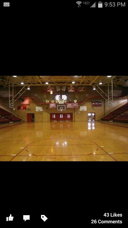 One of the best places on earth! Hometown- Centralia, Illinois-Trout Gymnasium