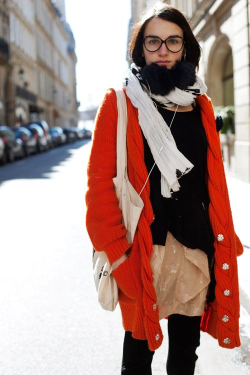 megazal:  On the Street….Right Bank, Paris «The Sartorialist