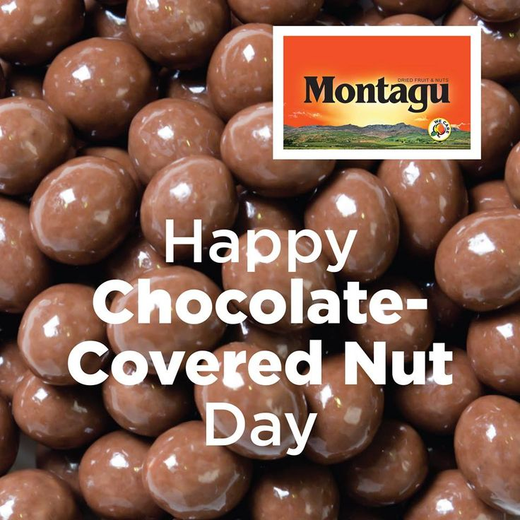 """You had me at """"chocolate""""… :)  For all you chocoholics, your chocolate fix awaits you at your nearest Montagu store: http://bit.ly/1TXrqDI   #ChocolateCoveredNutDay   #HealthyLifestyle   #LoveChocolate"""