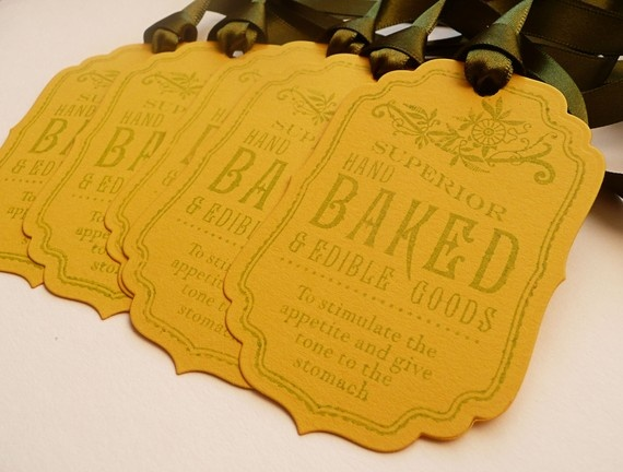 baked goods tag