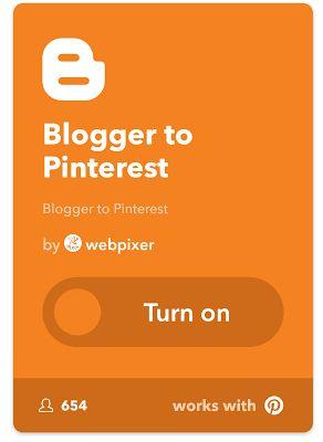 Ti piacerebbe che ogni tuo post su Blogger/Blogspot finisse in automatico anche su Pinterest? Ebbene anche questa cosa è possibile tramite la piattaforma di social connecting (nomignolo inventato da me :p) meglio nota come IFTTT. Tramite IFTTT (If This Then That - Se accade questo allora fai quello) infatti potrai collegare blogger a pinterest in modo che ogni volta che scriverai sul tuo blog verrà caricata un'immagine su pinterest che punta al tuo sito blogger. Ovviamente per poter fare ciò…