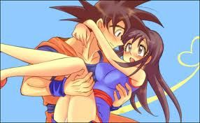 dragon ball love - Goku x Chichi