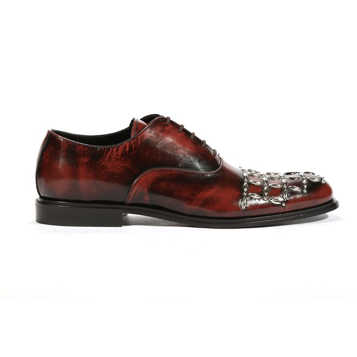 Cesare Paciotti Mens Oxfords Baio Bordeaux J Shoes (CPM5442)