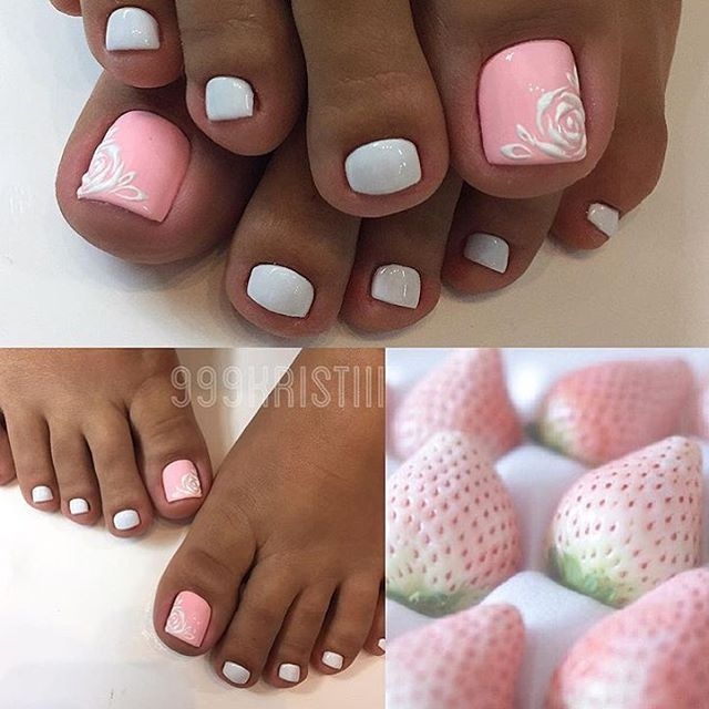 """400 Likes, 1 Comments - #pedicure_nmr (@pedicure_nmr) on Instagram: """"Мастер @999kristiii…"""""""