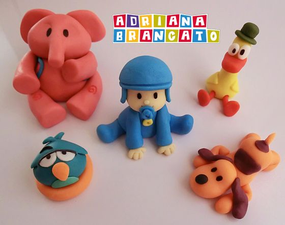 32 Best Images About Figuras De Fondant On Pinterest