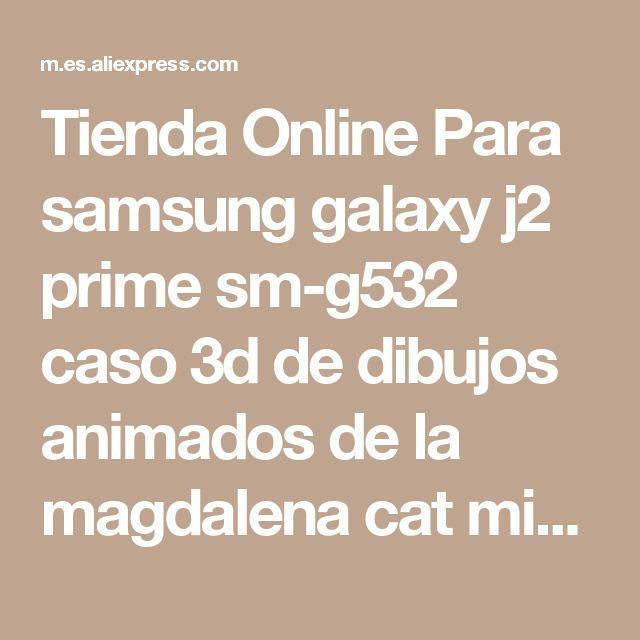 Tienda Online Para samsung galaxy j2 prime sm-g532 caso 3d de dibujos animados de la magdalena cat minions sulley silicona contraportada casos para grand prime Plus | Aliexpress móvil