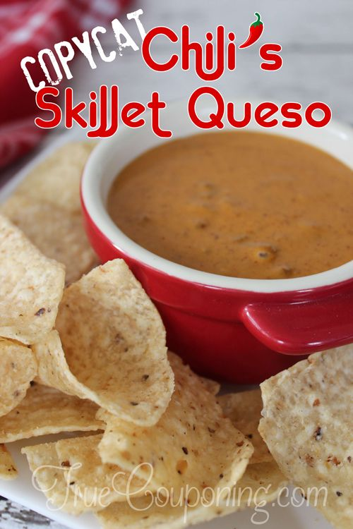 This Chili's Skillet Queso Dip recipe is so easy to make at home. There are two key ingredients that make it taste just like the restaurant version. Enjoy!