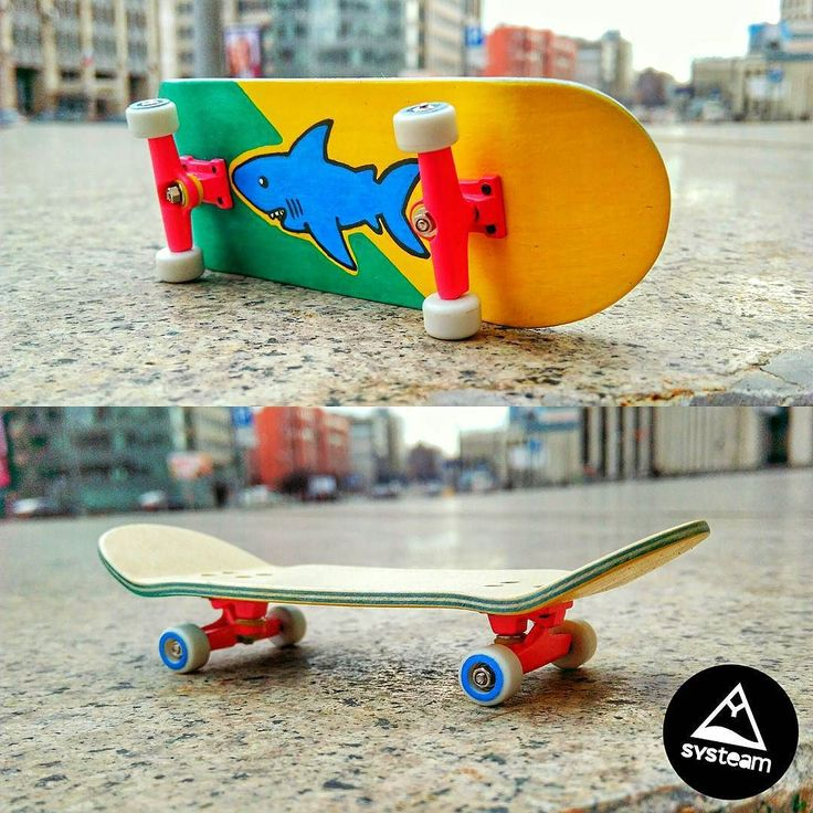 """Instagram #skateboarding photo by @systeam.fingerboards - The second model of custom professional fingerboard of a brand SYS.TEAM FB """"Threat for fingers"""""""" 100% handmade & hand-painted. Deck @profbshop. On sale. $ 25. Shipping worldwide Второй кастомный профессиональный фингерборд от SYS.TEAM FB """"Threat for fingers"""" 100% handmade & hand-painted. Deck @profbshop. В продаже. 1600 руб. Отправка по всей планете #systeamfamily #systeam #systeamfb #systeamfingerboards #fingerboard #fingerboarding…"""