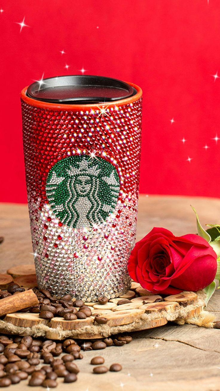 Red Starbucks Cup Personalized, Starbucks Tumbler, Ceramic