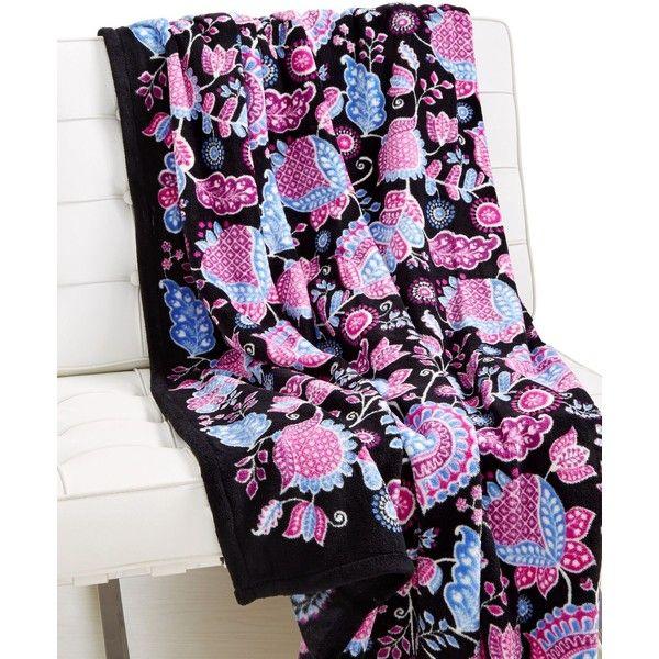 Vera Bradley Throw Blanket ($49) Liked On Polyvore